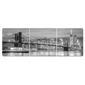 Composição 3 Quadros | Ponte Manhattan e Brooklyn NY