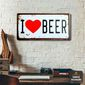 Quadro | I Love Beer