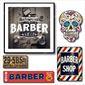 Conjunto Placas Barbershop 10 pçs| Barbearia, Salão, Barber shop