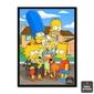 Quadro   Simpsons Família