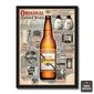 Quadro Cerveja Original Coisas boas não mudam
