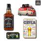 Composição 8 Quadros Bar| Boteco, Espaço Gourmet