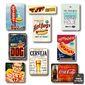 Composição 9 Quadros Hot Dogs| Frases, Espaço Gourmet