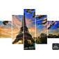 Quadro Painel Mosaico   Paris Torre Eiffel