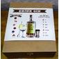 Kit Gin Completo! Gin ROCK'S, Taça, Dosador, Especiaria, Colher Etc