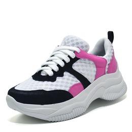 395f01cbb Tênis feminino Sneakers Chunky Preto e pink