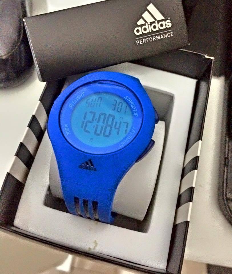 Relógio Adidas Unissex esportivo azul caneta a prova d água - BRUSFS cdaf6260d7