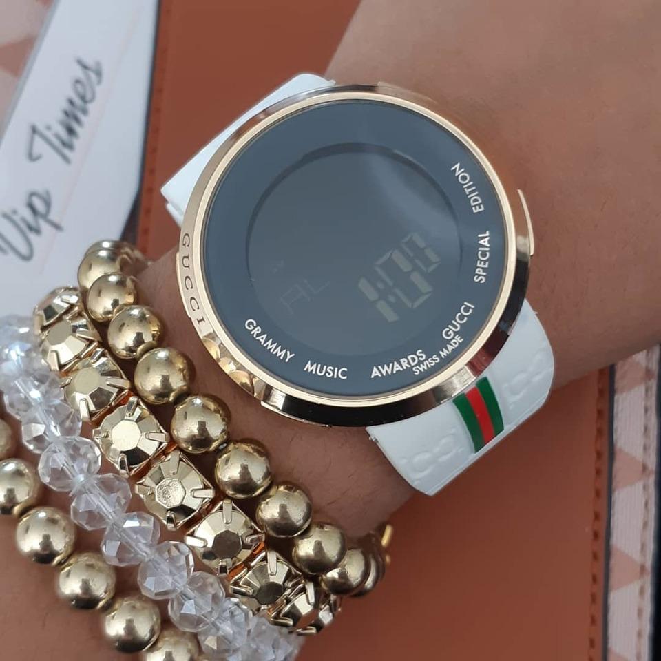 7eabd0fbc7a Relógio Digital Gucci - Vip Times