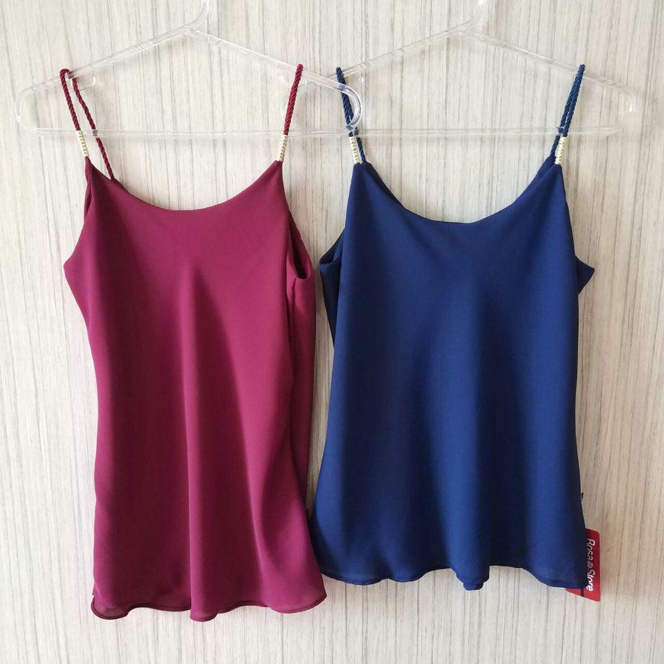 0c0b01ca3a Blusa Regata Eliene  escolha a cor  - Rosa Store
