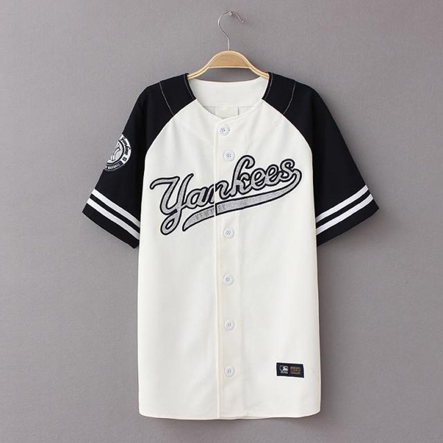 953cf30a290bb Camisa BASEBALL JERSEY YANKEES - Boss Tune ™