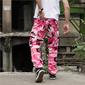 Calça Camuflada Masculina - Rosa