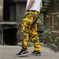 Calça Camuflada Masculina - Amarela