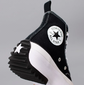Tênis Converse Run Star Hike Hi Foundational Canvas Black White