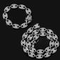 Kit Gucci Link + Bracelet + Relógio Cravejado