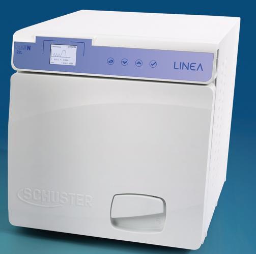 Autoclave Digital Linea N 22L - SCHUSTER - MultiCoisa a3a34b046b