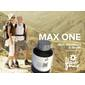 MAX ONE FLOWERMAX | Cálculos Renais e Artrite  | Atua no metabolismo do Cálcio | 120 cápsulas