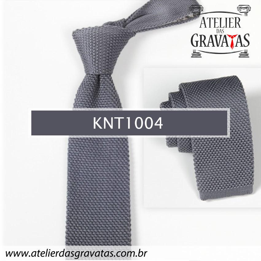 Gravata Slim Fit de Tricot 5,5cm KNT1004