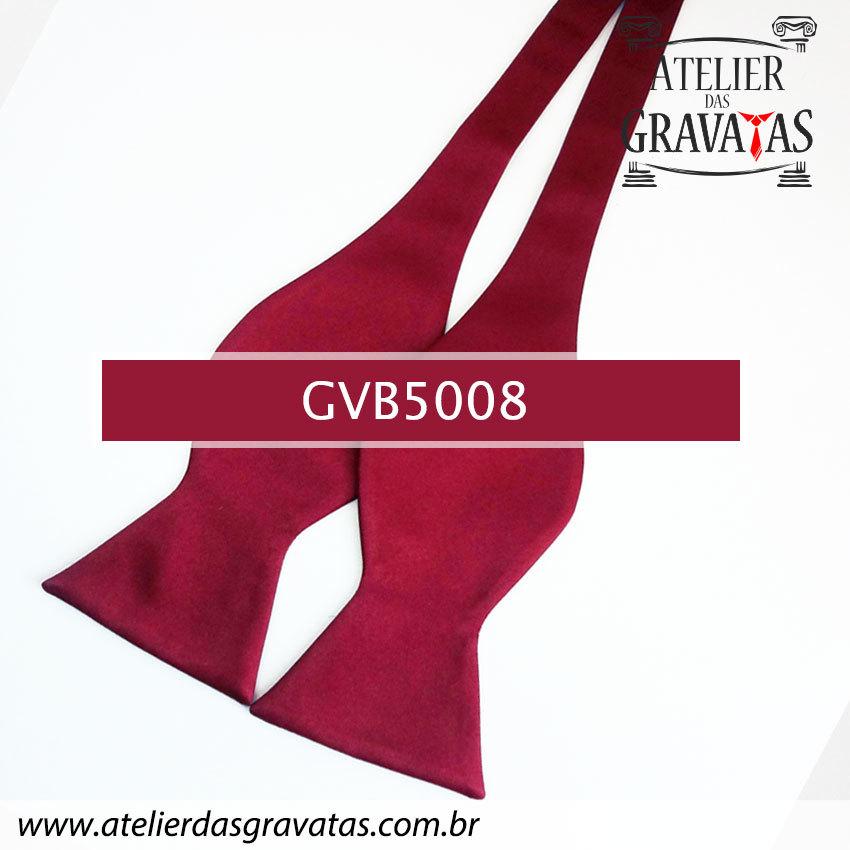 Gravata Borboleta Marsala GVB5008 - com ajuste de largura