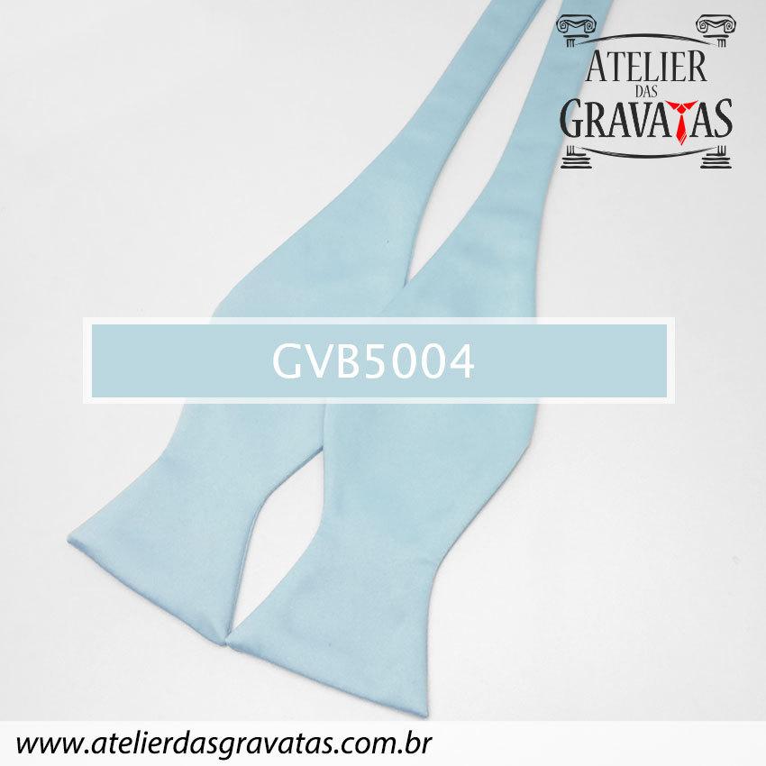 Gravata Borboleta Azul Clara GVB5004 - com ajuste de largura