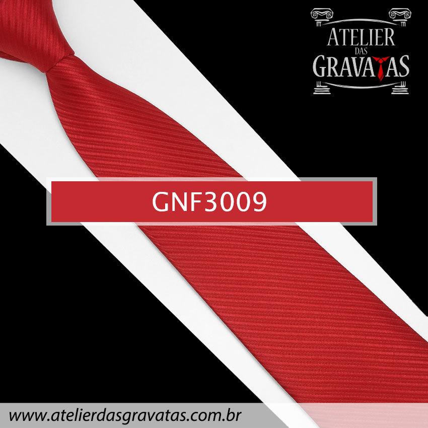 Gravata Vermelha 8cm GNF3009
