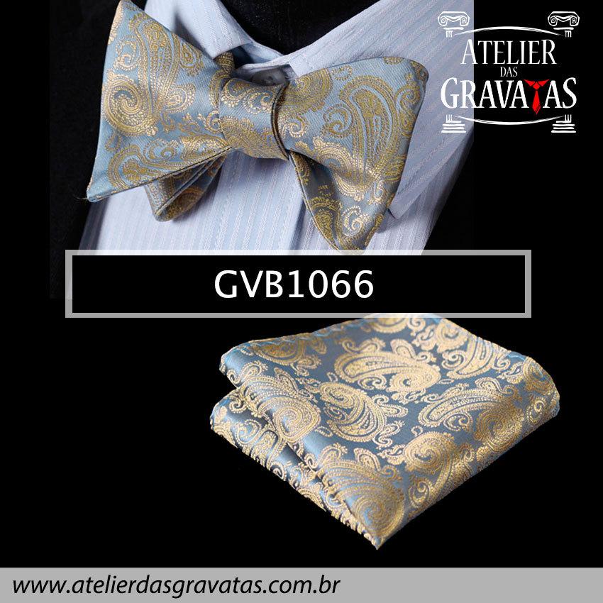 Gravata Borboleta de Seda Especial GVB1066