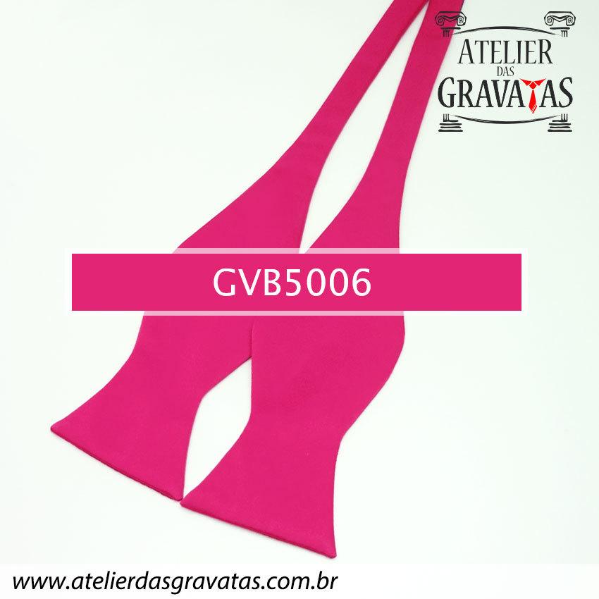 Gravata Borboleta Rosa Pink GVB5006 - com ajuste de largura