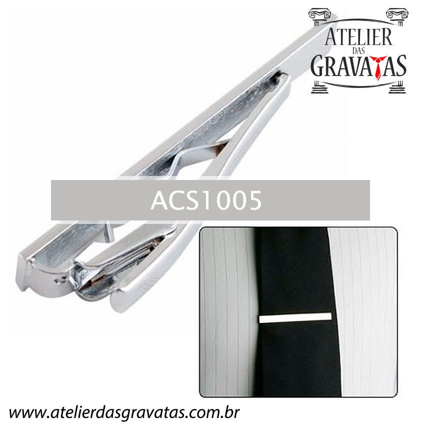 Prendedor de Gravata em Aço Inox ACS1005