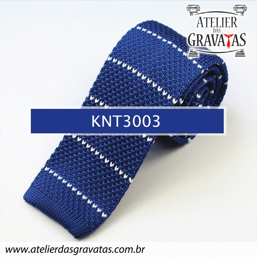 Gravata Slim Fit de Tricot 5,5cm KNT3003