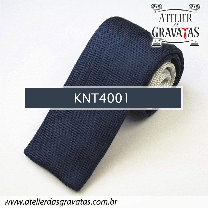 Gravata Slim Fit de Tricot 5,5cm KNT4001