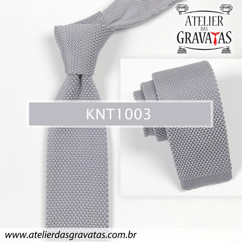 Gravata Slim Fit de Tricot 5,5cm KNT1003