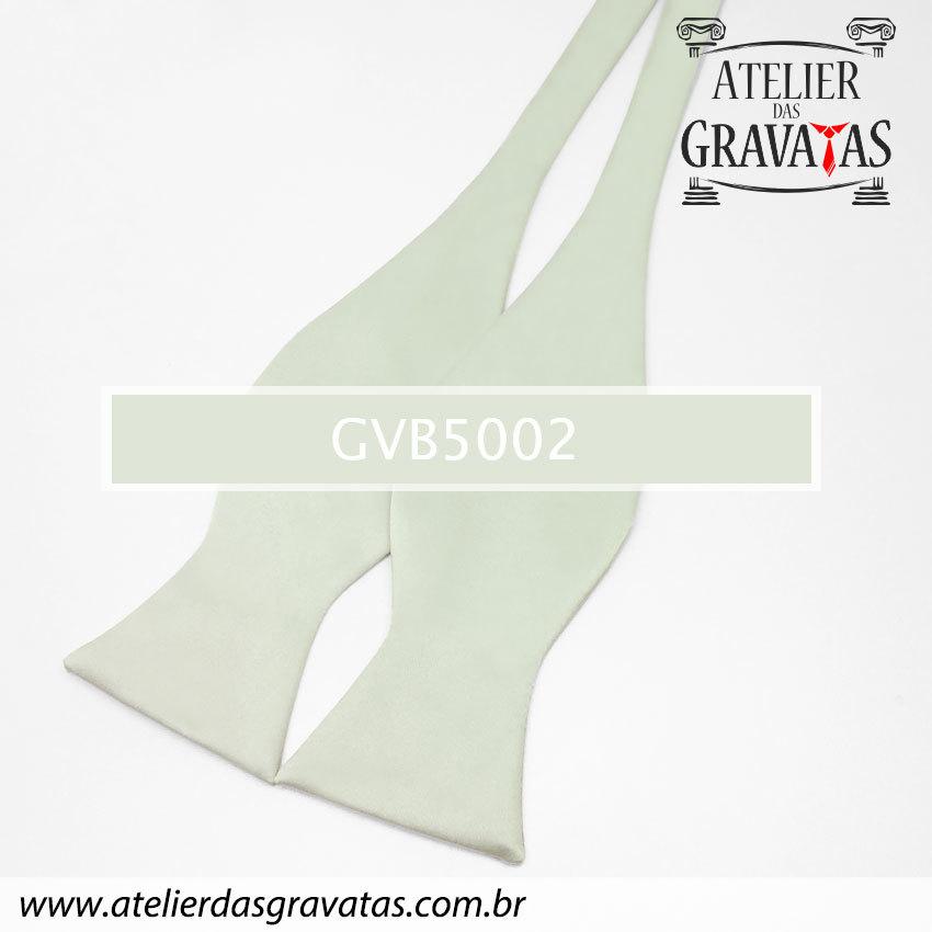 Gravata Borboleta Cinza Clara GVB5002 - com ajuste de largura