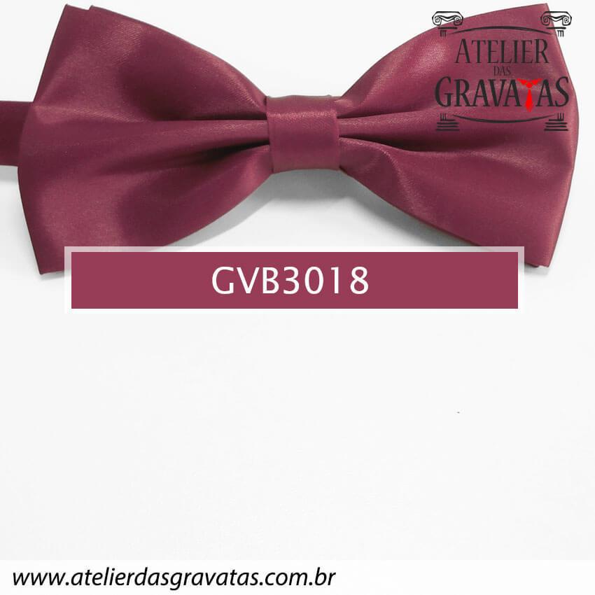 Gravata Borboleta Marsala - nó pronto GVB3018 - com ajuste de largura