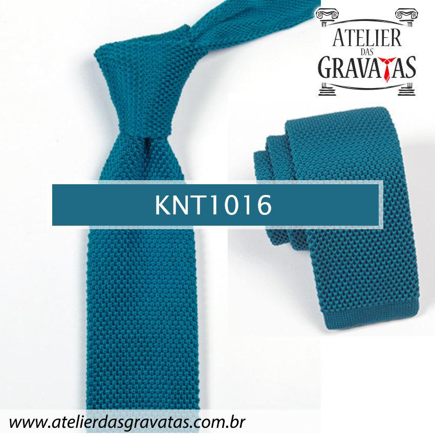 Gravata Slim Fit de Tricot 5,5cm KNT1016