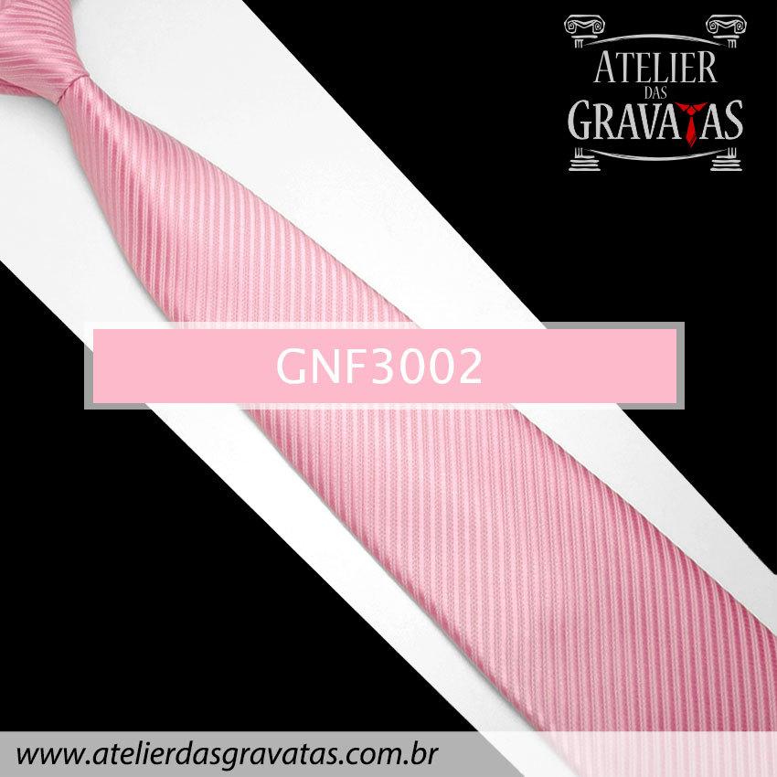 Gravata Slim Rosa 8cm GNF3002
