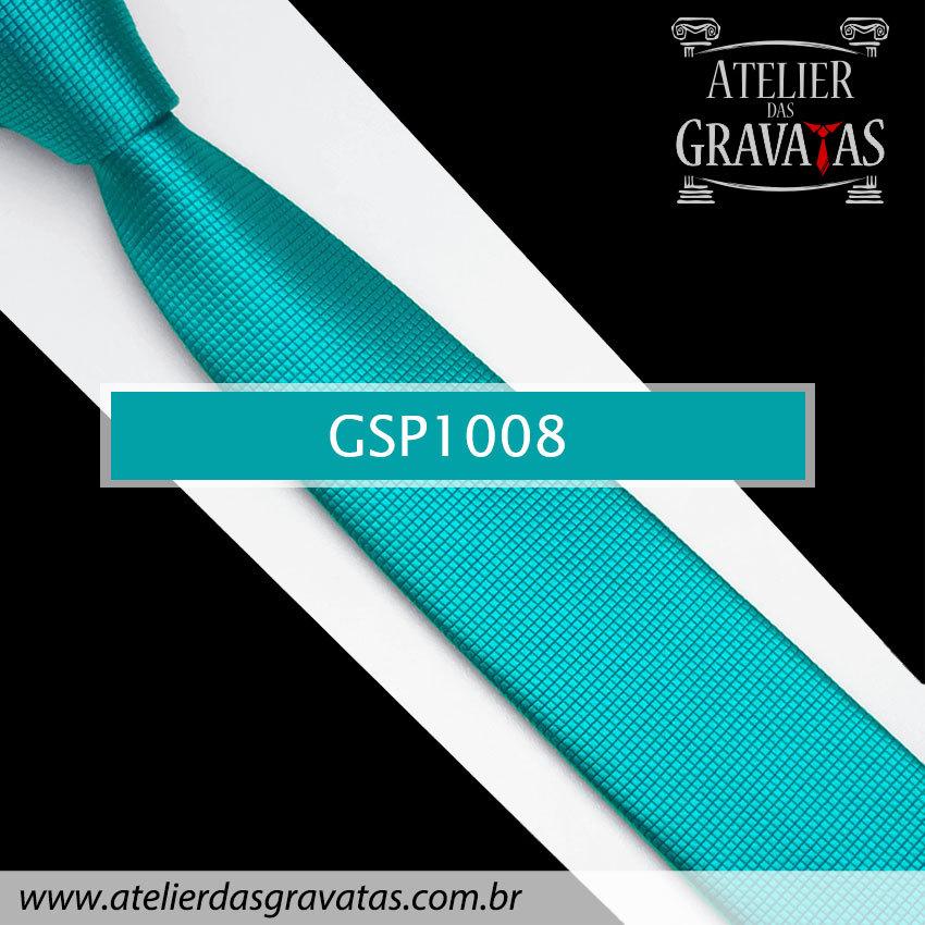 Gravata Slim Fit de Seda Especial 6cm GSP1008