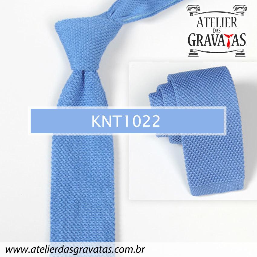 Gravata Slim Fit de Tricot 5,5cm KNT1022