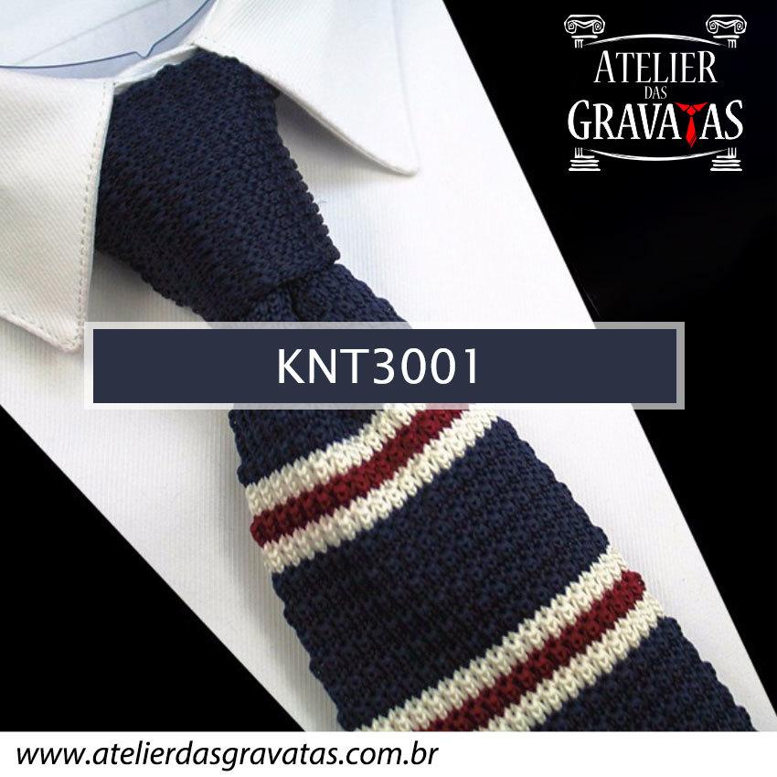 Gravata Slim Fit de Tricot 5,5cm KNT3001