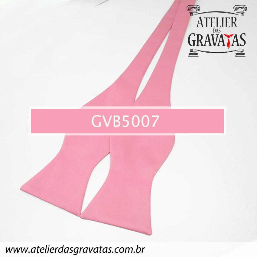 Gravata Borboleta Rosa Clara GVB5007 - com ajuste de largura
