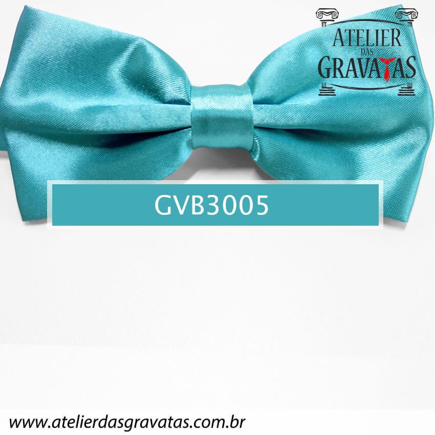 Gravata Borboleta Verde - nó pronto GVB3005 - com ajuste de largura
