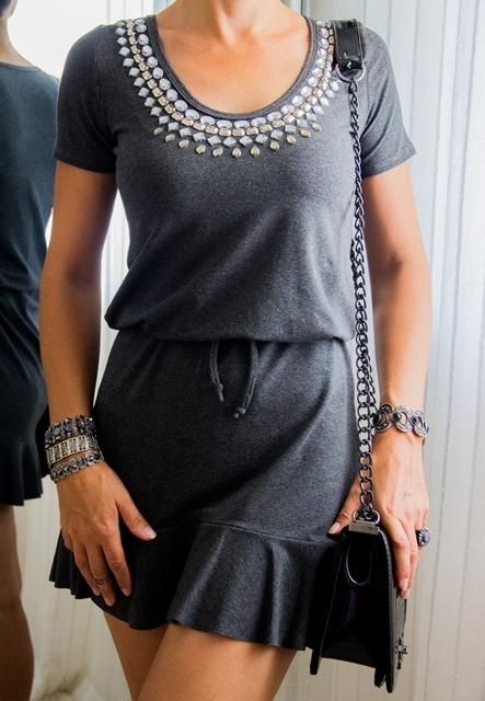 4365e8932e Vestido peplum bordado - L amour Store