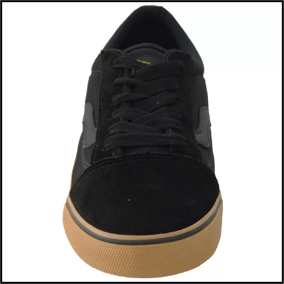 0309a7b14d1 Tenis Mad Rats Old School - Preto Crepe - Tactical Extreme Sports