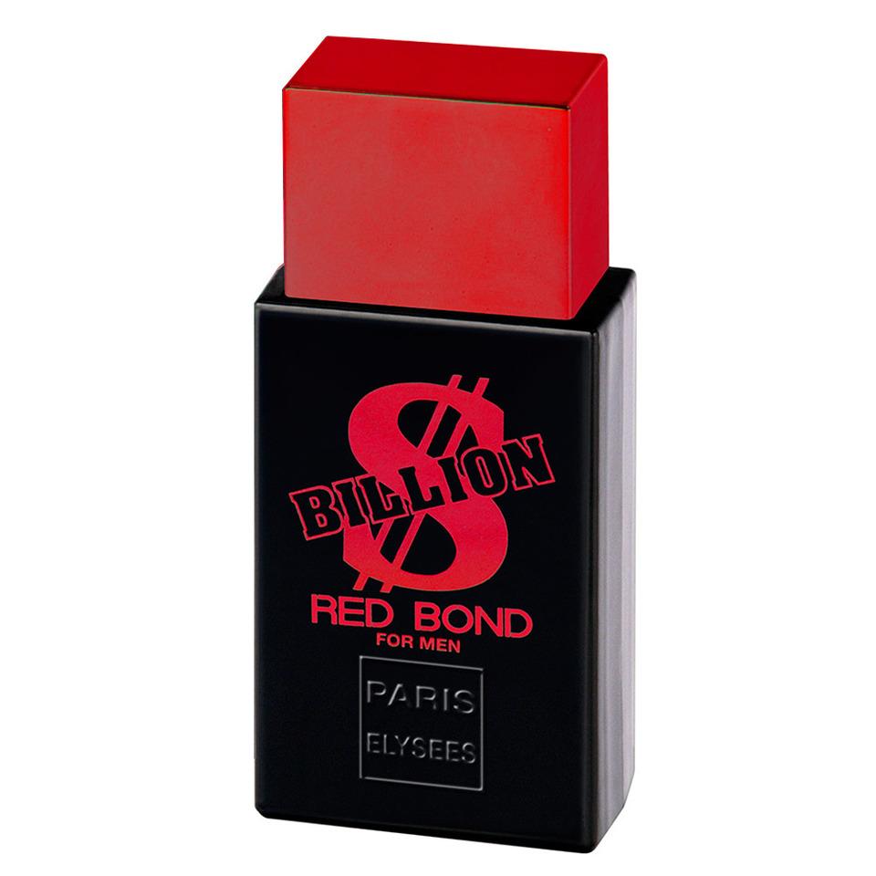 8a518c203 Billion Red Bond Paris Elysees - Perfume Masculino - Eau de Toilette - 100ml  - Parfum Paris Elysees