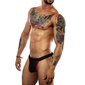 Jockstrap HoneyComb Black
