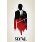 QUADRO DECORATIVO FILME 007 SKYFALL MINIMALIST