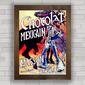 QUADRO VINTAGE CHOCOLAT MEXICAIN PARIS