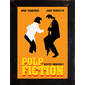 QUADRO MINIMALISTA FILME PULP FICTION 8