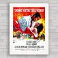 QUADRO DECORATIVO FILME GONE WITH THE WIND 2