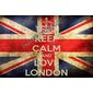 QUADRO KEEP CALM LONDON