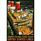 QUADRO DE PAREDE UNITED STATES LINES 1920