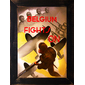 QUADRO RETRÔ BELGIUM FIGHTS WWII